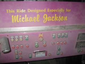 eBay Find: The control panel of a one-of-a-kind ride from Neverland Ranch: Current Bid $46,100. Reserve Not Met
