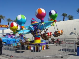 At the California State Fair through Sept 7: Balloon Samba Ride from Michael Jackson's Neverland Ranch. Photo courtesy of Butler Amusements