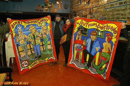 Banner Art by Marie Roberts. Photo © Norman Blake. All Rights Reserved.