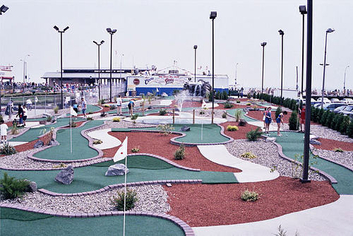 Before Thor: Miniature Golf Course on Stillwell West. Photo via coneyislandbattingrange.com