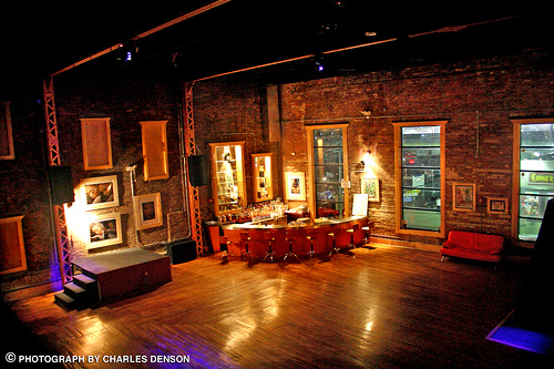Velocity Nightclub in the Henderson Building, 2007. Photo © Charles Denson