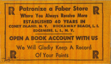 fabers coupon