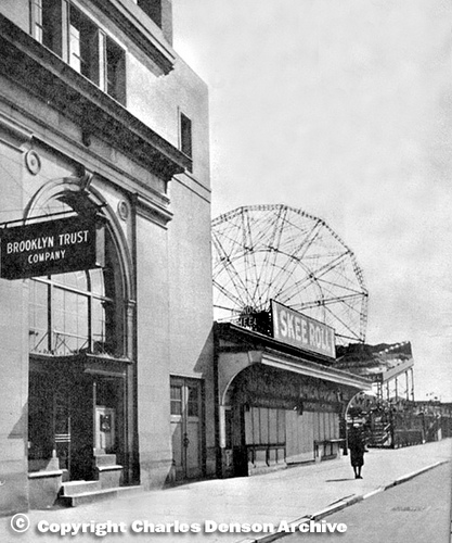 Bank of Coney Island. Photo © Charles Denson Archive