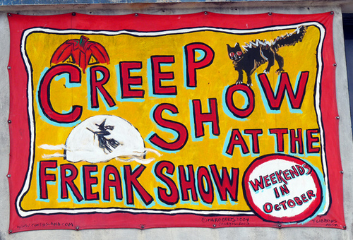 Creep Show at the Freak Show