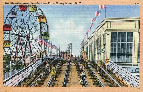 Coney Island Train Ride