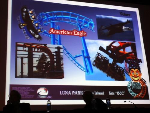 Zamperla's American Eagle Coaster aka The Volare