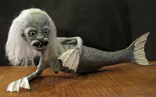 "One of the mermaids that appears in ""Fiji Mermaid""  Photo © Russell Richards"