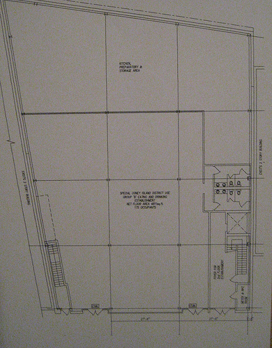 Plan for Two Story Commercial Building