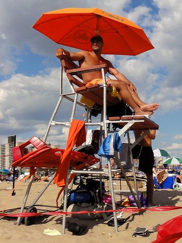 Coney Island Lifeguard