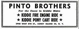 Pinto Bros Nov 1951