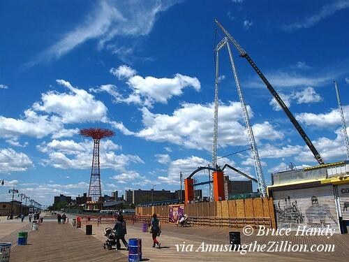 SkyCoaster Coney Island