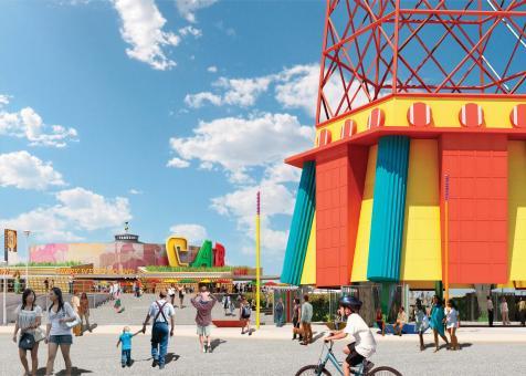 Parachute Jump Gateway