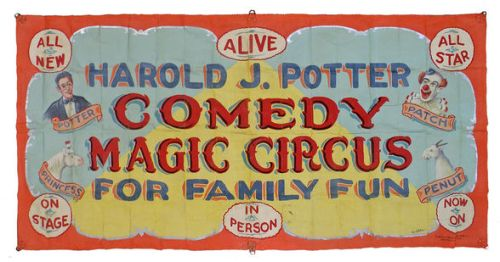 Harold J Potter Magic Circus