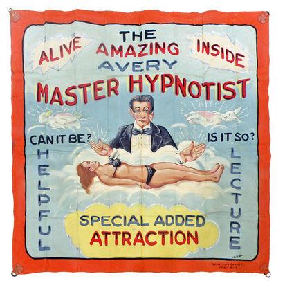 Hypnotist Banner by Fred Johnson