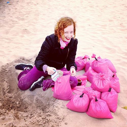 Pink Sandbags