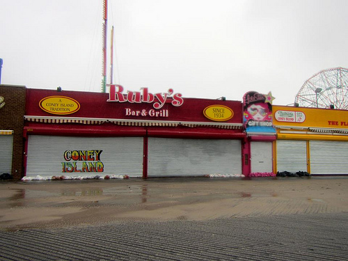 Hurricane Sandy Aftermath in Coney Island