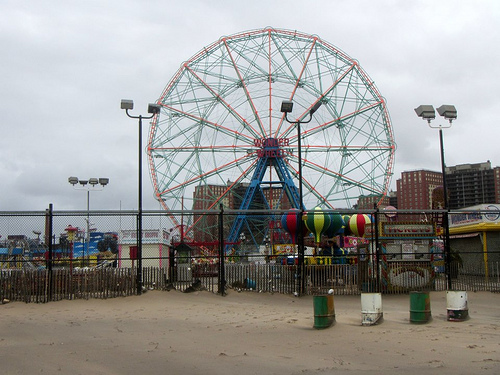 Hurricane Sandy Aftermath in Coney Island