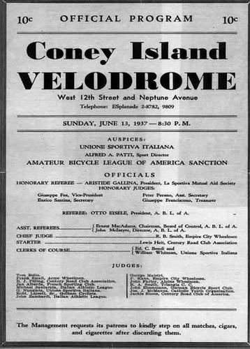Coney Island Velodrome