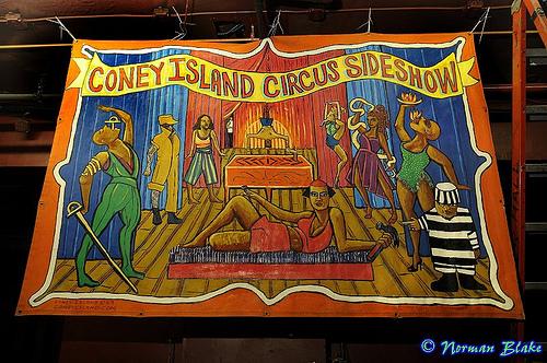 Coney Island USA Gala Banner