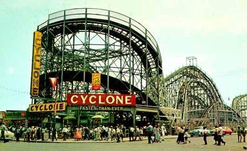 Cyclone vintage postcard