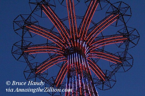 Parachute Jump Lighting Test