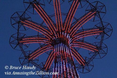 Parachute Jump Lighting Test