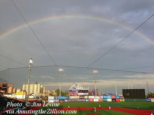Rainbow Over Brooklyn Cyclones, Coney Island