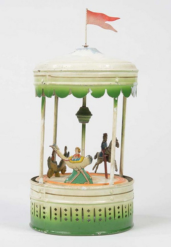 Antique Toy Carousel