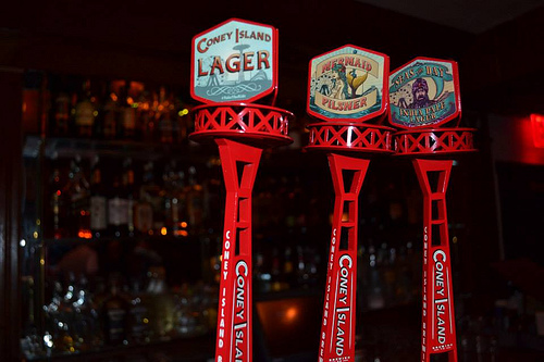 Coney Island Beer Taps