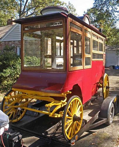 Cretors Model A Popcorn Wagon