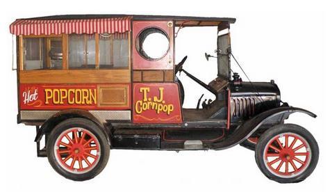 Model T Popcorn Truck
