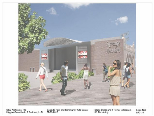 Seaside Park Rendering