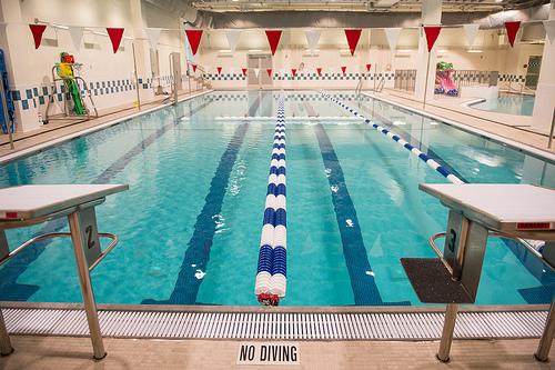Pool at New Coney Island YMCA