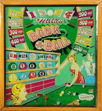 Bank a Ball Pinball Machine