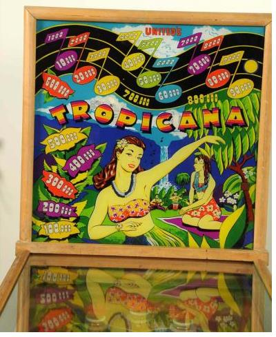 United Tropicana Pinball Machine