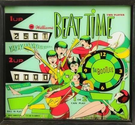Beat Time Pinball Machine