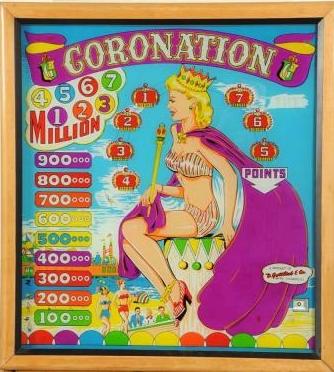 Coronation Pinball Machine