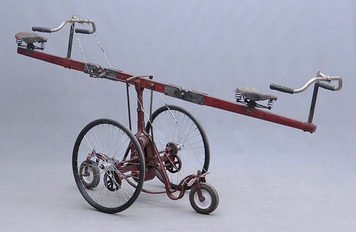 See-saw Circus Clown Bicycle