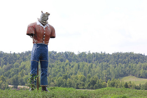 Muffler Man Restoration Project in Mortons Gap