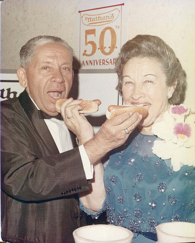 Nathan and Ida Handwerker