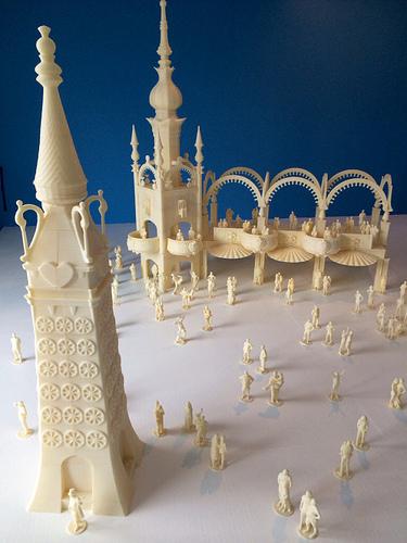 3D Luna Park by Fred Kahl
