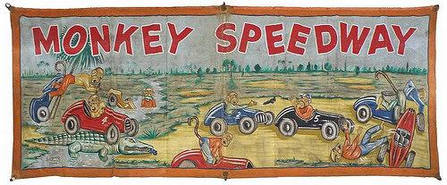Monkey Speedway Banner
