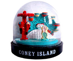 Coney Island Snow Globe