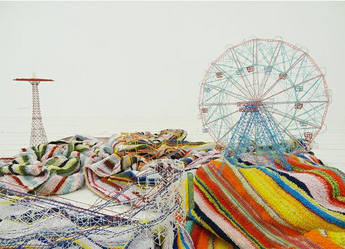 Out of Disorder (Coney Island) 2012 by Takahiro Iwasaki.