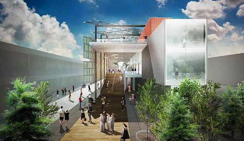 Milan Expo USA Pavilion Rendering