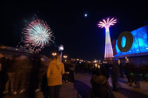Coney Islan New Year's Eve
