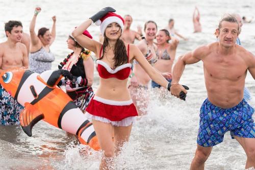 New Years Day Coney Island Polar Bear Plunge