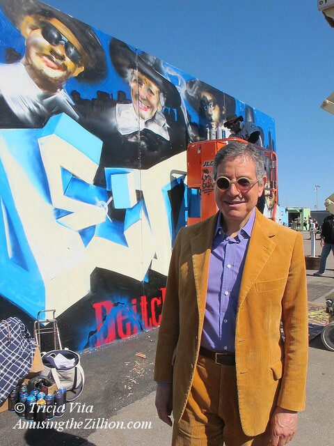 Jeffrey Deitch at Coney Art Walls